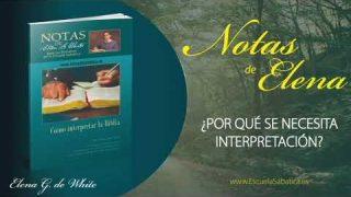 Notas de Elena | Martes 5 de mayo del 2020 | La Biblia y la cultura | Escuela Sabática