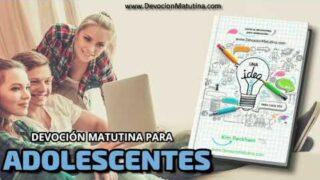1 de agosto 2020 | Devoción Matutina para Adolescentes 2020 | Martín Brody