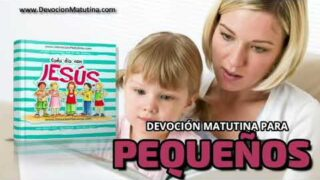 20 de noviembre 2020 | Devoción Matutina para Niños Pequeños 2020 | Un mal hábito