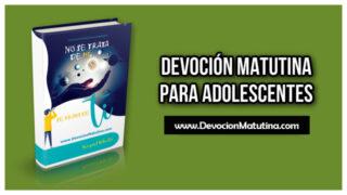 Domingo 11 de abril 2021 | Devoción Matutina para Adolescentes 2021 | El corredor