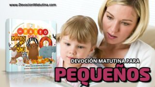 6 de mayo 2021 | Devoción Matutina para Niños Pequeños 2021 | Un avispón peligroso